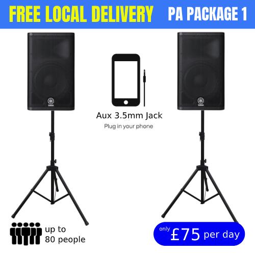 Rent speaker