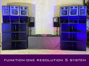 Funktion one Res system hire