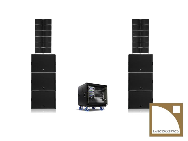 lacoustics sound system hire